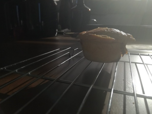 Chicken Pie On Cooling Rack